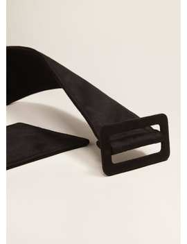 Wide Belt by Mango