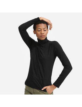 The Cotton Turtleneck Tee by Everlane