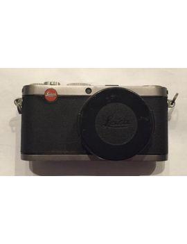 Leica X X1 12.2 Mp Digital Camera Silver Black Elmarit F/2.8 24mm Lots Of Wear by Leica