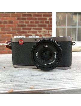Leica X1 12.2 Mp 24mm Aps C Cmos Mirrorless &Nbsp;Digital Camera Silver And Black&Nbsp; by Leica