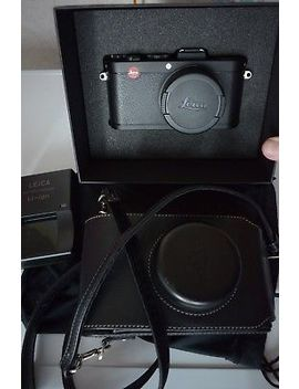 Leica X2 (18450) Black (Exc 9,5/10 Cond) + Leather Case (18755) by Leica