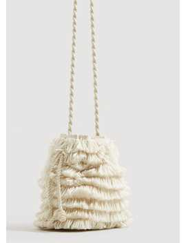 Bucketbag Met Franjes by Mango