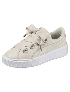 Platform Kiss Leather Women's Sneakers by Puma