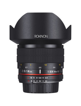 14mm F/2.8 If Ed Umc Lens For Nikon With Ae Chip by Rokinon