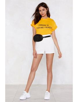 Pardon My Fucking French Tee by Nasty Gal
