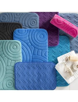 Wayfair Basics™ Wayfair Basics Chevron Bath Rug & Reviews by Wayfair Basics™