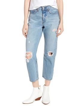 wedgie-ripped-straight-leg-jeans by levis