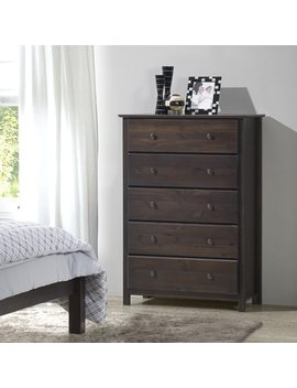 Grain Wood Furniture Shaker 5 Drawer Chest & Reviews by Grain Wood Furniture