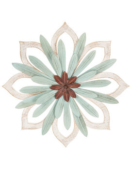 Starburst Flower Metal Wall Decor by Hobby Lobby