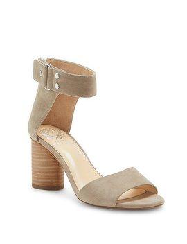 Jannali Suede Block Heel Dress Sandals by Generic