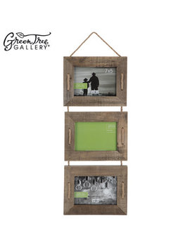 "Barnwood Rope Collage Wall Frame   5"" X 7"" by Hobby Lobby"