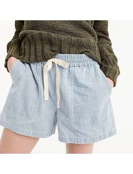 Point Sur Seaside Short In Stripe by J.Crew