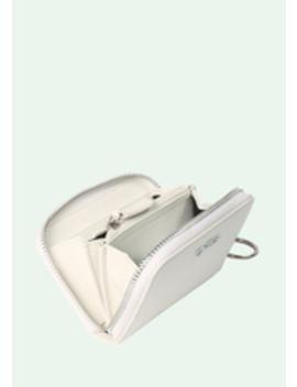 White Medium Wallet by Off White