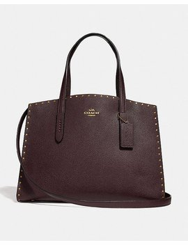 Charlie Carryall With Rivets by Coach