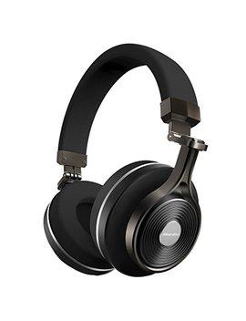 Bluedio T3 (Turbine 3rd) Wireless Bluetooth 4.1 Stereo Headphones (Black) by Bluedio