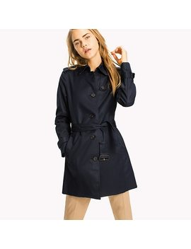 Heritage Single Breasted Trench Coat by Tommy Hilfiger