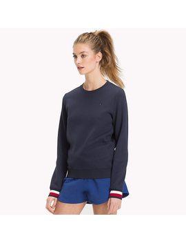 Statement Cuff Sweatshirt by Tommy Hilfiger