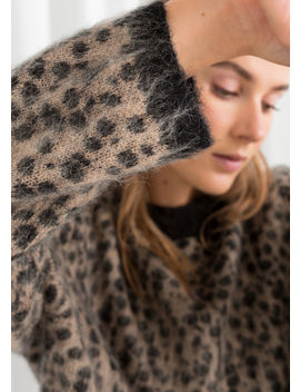 Leopard Knit Sweater by & Other Stories