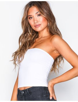 Cotton Blend Bandeau by New Look