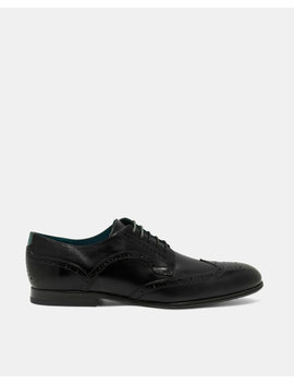 Wing Cap Leather Brogues by Ted Baker