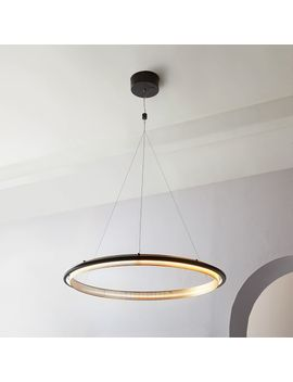 Led Hoop Chandelier by West Elm