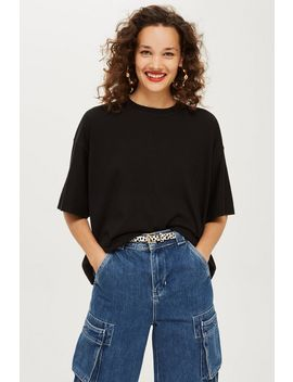 Oversized Boxy T Shirt by Topshop