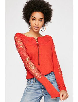 Turn It Up Top by Free People