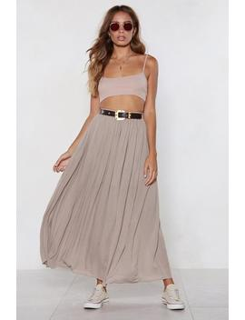 Give It A Spin Maxi Skirt by Nasty Gal