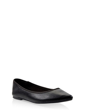Pointed Ballet Flats by Rainbow