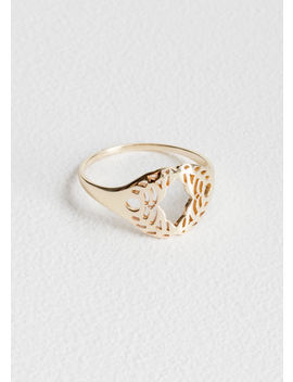 Cutout Wreath Ring by & Other Stories