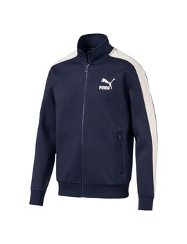 Men's T7 Jacket Suede by Puma
