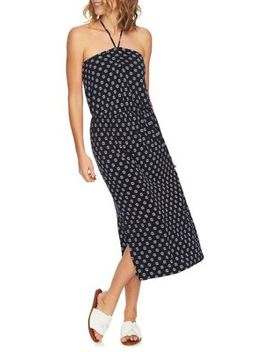 Cinched Halter Midi Dress by 1.State