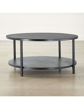 Echelon Round Coffee Table by Crate&Barrel