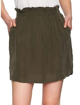 Paperbag Mini Skirt by 1.State