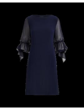 Georgette Sleeve Jersey Dress by Ralph Lauren