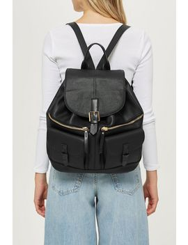 Double Pocket Backpack by Topshop