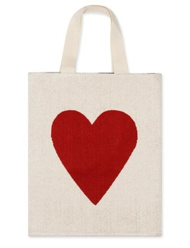 Heart Tote Bag by Hansel From Basel