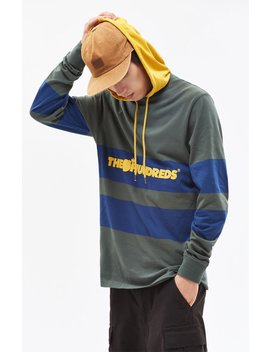 Ridge Hooded Long Sleeve T Shirt by The Hundreds