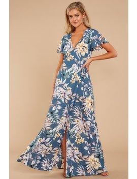 This Isn't That Maxi Dress In Pacific Palm by Aura