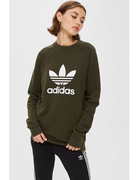 Trefoil Crew Jumper By Adidas by Topshop