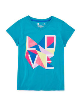 Xersion Graphic Short Sleeve T Shirt  Girls 4 16 And Plus by Xersion