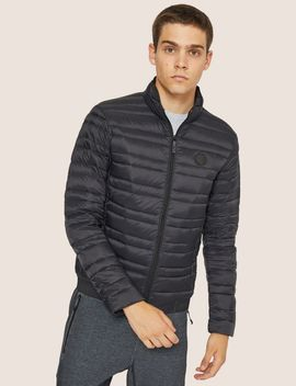 Classic Packable Down Fill Puffer Jacket by Armani Exchange