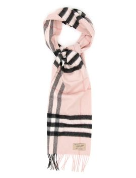 Giant Check Scarf by Burberry