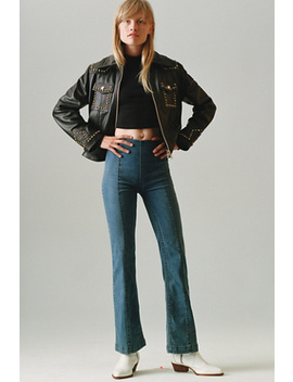 Slim Pull On Flare Jeans by Free People