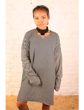 The Ragged Priest Jumper Dress With Ringed Neck Collar  – Size L by The Ragged Priest