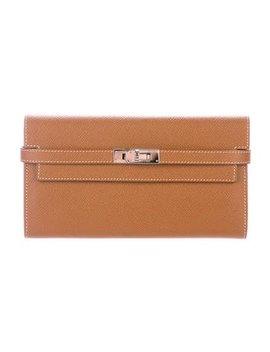 Hermès 2014 Epsom Kelly Longue Wallet by Hermès