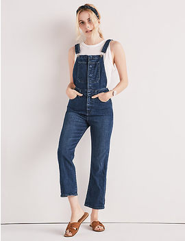 Bridgette Crop Flare Overall by Lucky Brand