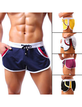 New Mens Running Training Pants Fitness Beach Sport Swimming Shorts Hot Pant Pt by Ebay Seller