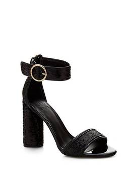 Abha Sequin Sandal by Guess