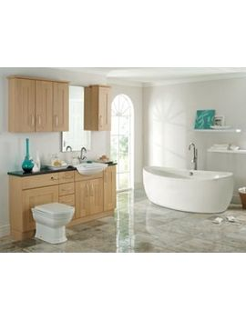 Wickes Havana Semi Recessed Basin Unit 600mm by Wickes